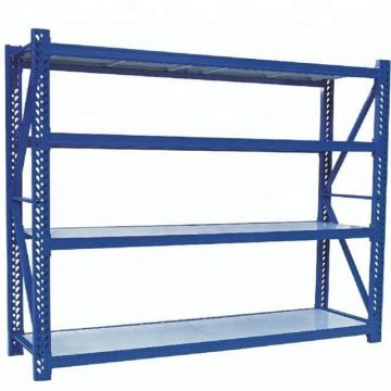 Multi Tier Storage Mezzanine with Handrail Shelf Rack Suit for Large Quantity