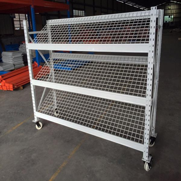 4-5layer easy installation wire shelving and metal rack for storage