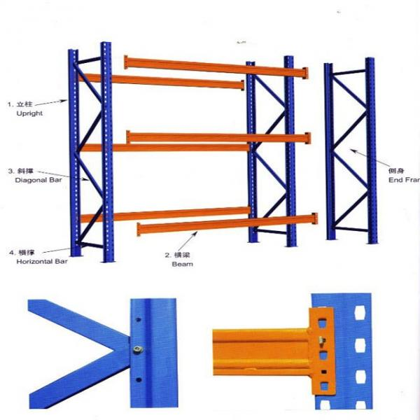 warehouse rack system storage shelf for high quality pallet racking